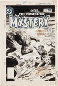Original Comic Art:Covers, Luis Dominguez House of Mystery #279 Cover Original Art (DC,1980)....