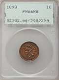 Proof Indian Cents: , 1898 1C PR66 Red and Brown PCGS. PCGS Population (14/2). NGCCensus: (25/3). Mintage: 1,795. Numismedia Wsl. Price for prob...