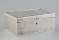 Silver Holloware, American:Boxes, AN AMERICAN SILVER BOX . Gorham Manufacturing Co., Providence,Rhode Island, circa 1917. Marks: (lion-anchor-G),STERLING,...