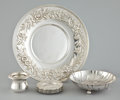 Silver & Vertu:Hollowware, A GROUP OF NINE RELATED AMERICAN SILVER PLATES AND BOWLS . Samuel Kirk & Son, Baltimore, Maryland, circa 1924. Marks: S. K... (Total: 9 Items)