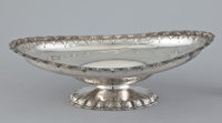 AN AMERICAN SILVER FOOTED BOWL Tiffany & Co., New York, New York, circa 1860 Marks: TIFFANY & CO., ENGLISH