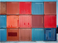 Photographs:Contemporary, GRANT MUDFORD (Austrian, b. 1944). Multi-Colored Containers,1982. Dye destruction, 1982. Paper: 24 x 32 inches (61.0 x ...
