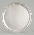 Silver Holloware, American:Trays, AN AMERICAN SILVER TRAY . Tiffany & Co., New York, New York,circa 1943. Marks: TIFFANY & CO., MAKERS, STERLING SILVER,21...