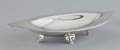Silver Holloware, American:Bowls, AN AMERICAN SILVER FOUR FOOTED LOZENGE-FORM SERVING DISH . Tiffany& Co., New York, New York, circa 1940. Marks: TIFFANY&...