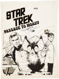 Original Comic Art:Covers, Neal Adams Star Trek Passage to Moauv PR-25 Cover OriginalArt (Power Records, 1975)....