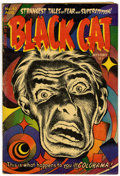 Golden Age (1938-1955):Horror, Black Cat Mystery #45 (Harvey, 1953) Condition: Average VG/FN....