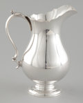 Silver Holloware, American:Creamers and Sugars, AN AMERICAN SILVER CREAM PITCHER . Wallace Silversmiths, Inc., Wallingford, Connecticut, circa 1942. Marks: WALLACE, STERL...