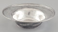 Silver Holloware, American:Bowls, AN AMERICAN SILVER HAND HAMMERED BOWL . Whiting Manufacturing Company, New York, New York, circa 1915. Marks: (griffin with ...