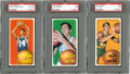 Basketball Cards:Lots, 1970-71 Topps Basketball Hall of Famers PSA-Graded Trio (3). ...