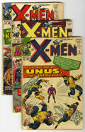 Silver Age (1956-1969):Superhero, X-Men #8-11 Group (Marvel, 1964-65) Condition: Average GD-.... (Total: 5 Comic Books)