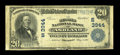 National Bank Notes:Kentucky, Ashland, KY - $20 1902 Plain Back Fr. 652 The Second NB Ch. #(S)3944. ...