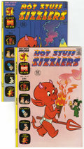 Bronze Age (1970-1979):Cartoon Character, Hot Stuff Sizzlers #57 and 58 File Copies Group (Harvey, 1973-74)Condition: Average NM.... (Total: 2 Comic Books)