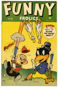 Golden Age (1938-1955):Funny Animal, Funny Frolics #2 (Timely, 1945) Condition: VF+....