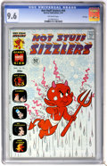 Bronze Age (1970-1979):Cartoon Character, Hot Stuff Sizzlers #59 File Copy (Harvey, 1974) CGC NM+ 9.6Off-white pages....