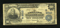 National Bank Notes:Kentucky, Ashland, KY - $10 1902 Plain Back Fr. 628 The Ashland NB Ch. #(S)2010. Nice, darkly printed signatures adorn this $10. ...