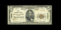 National Bank Notes:Colorado, Grand Junction, CO - $5 1929 Ty. 2 The First NB Ch. # 13902. Thisinstitution was not chartered until December of 1933 a...