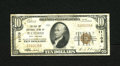 National Bank Notes:West Virginia, Bluefield, WV - $10 1929 Ty. 1 The Flat Top NB Ch. # 11109. ...