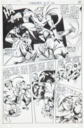 Original Comic Art:Panel Pages, Steve Ditko Beware the Creeper #4 page 13 Original Art (DC,1968)....