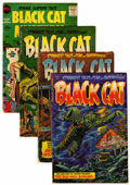 Golden Age (1938-1955):Horror, Black Cat Mystery #51-53 and 57 Group (Harvey, 1954-56).... (Total:4 Comic Books)
