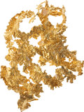 Western Expansion:Goldrush, Crystalline Gold: A Beautiful Large Specimen....
