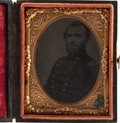Political:Miscellaneous Political, Ulysses S. Grant: A Most Unusual Tintype Image....