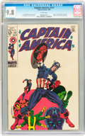 Silver Age (1956-1969):Superhero, Captain America #111 (Marvel, 1969) CGC NM/MT 9.8 White pages....