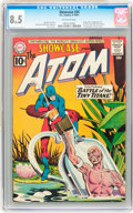 Silver Age (1956-1969):Superhero, Showcase #34 The Atom (DC, 1961) CGC VF+ 8.5 Off-white pages....
