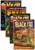 Golden Age (1938-1955):Horror, Black Cat Mystery #46-49 Group (Harvey, 1953-54).... (Total: 4Comic Books)