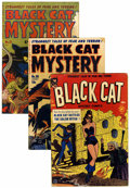 Golden Age (1938-1955):Horror, Black Cat Mystery #29-31 Group (Harvey, 1951).... (Total: 3 ComicBooks)