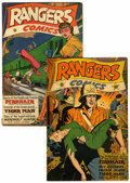 Golden Age (1938-1955):War, Rangers Comics #30 and 32 Group (Fiction House, 1945).... (Total: 2Comic Books)