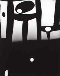 GYORGY KEPES (American/Hungarian, 1906-2001) Untitled (Abstraction), circa 1953 Gelatin silver, circ