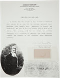 Political:3D & Other Display (pre-1896), John Brown's Hair. ...