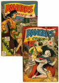 Golden Age (1938-1955):War, Rangers Comics #20 and 22 Group (Fiction House, 1943).... (Total: 2Comic Books)