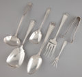Silver Flatware, American:Gorham, THIRTEEN AMERICAN SILVER SERVING PIECES . Gorham Manufacturing Co.,Providence, Rhode Island, circa 1913. Marks: (lion-ancho... (Total:13 Items)