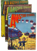 Pulps:Science Fiction, Amazing Stories Group (Ziff-Davis, 1930-31).... (Total: 15 )