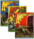 Pulps:Science Fiction, Amazing Stories Group (Ziff-Davis, 1927).... (Total: 12 )