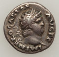 Ancients:Roman Imperial, Ancients: Tiberius (AD 14-37) and Nero (AD 54-68). Lot of two ARdenarii. ... (Total: 2 coins)