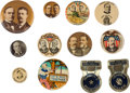 Political:Pinback Buttons (1896-present), 1900 - 1940 Campaigns: Twelve Items.... (Total: 12 Items)