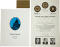 """Political:Presidential Relics, John F. Kennedy: Extremely Rare Broadside, Program, and Ticket to the """"Texas Welcome Dinner"""" for President Kennedy... (Total: 3 Items)"""