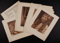Photographs:19th Century, EDWARD SHERIFF CURTIS (American, 1868-1952). The North AmericanIndian, Volume 13: The Hupa, The Yurok, The Karok, The Wiy...(Total: 36 Items)