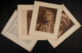 Photographs:19th Century, EDWARD SHERIFF CURTIS (American, 1868-1952). The North American Indian, Volume 19: The Indians of Oklahoma, The Wichita, T... (Total: 36 Items)