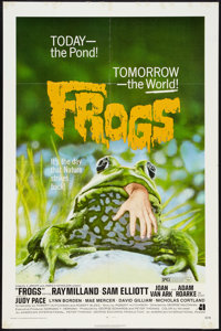 """Frogs Lot (American International, 1972). One Sheets (2) (27"""" X 41""""). Horror. ... (Total: 2 Item)"""