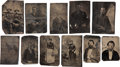 Photography:Tintypes, Early Western Tintypes.... (Total: 11 Items)