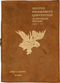 Political:Miscellaneous Political, 1916 Progressive Convention: The Convention Without a Nominee....