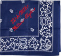 Political:Textile Display (1896-present), Wallace & Taylor: A Rare Cloth Handkerchief for the 1948Progressive Candidates. ...