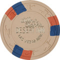 Miscellaneous:Gaming Chips, Wilbur Clark's Desert Inn: A Very Rare Ninth Series $500 Chip,Rated R-9. ...