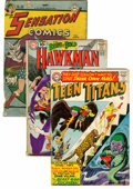Silver Age (1956-1969):Miscellaneous, DC Silver Age Comics Group (DC, 1960s) Condition: Average GD exceptas noted.... (Total: 53 Comic Books)