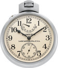 Timepieces:Other , Hamilton Model 22 U.S. Navy Chronometer Deck Watch, circa 1942. ...
