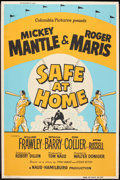 "Movie Posters:Sports, Safe at Home (Columbia, 1962). Poster (40"" X 60""). Sports.. ..."