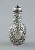 Silver Holloware, American:Other , AN AMERICAN SILVER PEPPER SHAKER . Dominick & Haff, New York,New York, circa 1876. Marks: D & H (in rectangle)(circle)...